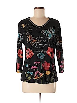 Jess & Jane 3/4 Sleeve T-Shirt Size M