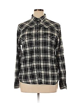 Jach's Girlfriend Long Sleeve Button-Down Shirt Size XL