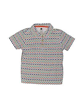 Tea Short Sleeve Polo Size 4