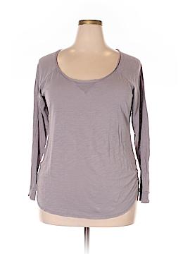 Daisy Fuentes Long Sleeve T-Shirt Size 1X (Plus)