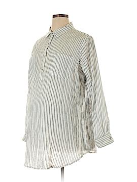 Liz Lange Maternity Long Sleeve Blouse Size XXL (Maternity)