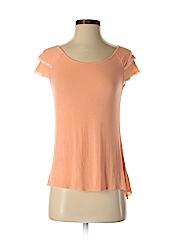 Frenchi Women Short Sleeve Top Size S