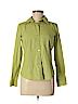 Kim Rogers Women Long Sleeve Button-Down Shirt Size S