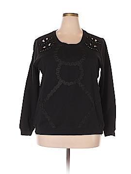 Eloquii Sweatshirt Size 18 - 20 Plus (Plus)