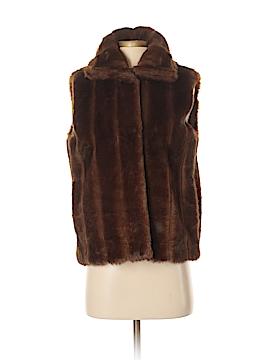 Spiegel Faux Fur Vest Size XS