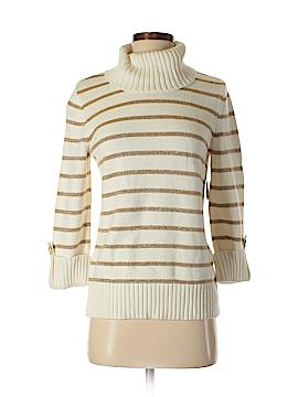 Jones New York Signature Turtleneck Sweater Size S