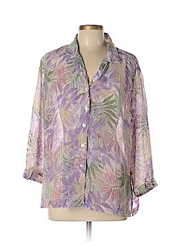 Cathy Daniels 3/4 Sleeve Blouse Size L
