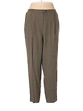 Evan Picone Wool Pants Size 18 (Plus)