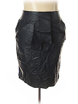 Melissa McCarthy Seven7 Faux Leather Skirt Size 3X (Plus)