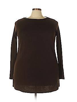 Lauren by Ralph Lauren Long Sleeve Top Size 3X (Plus)