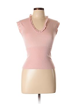 Rebecca Taylor Silk Pullover Sweater Size L