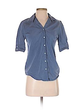 Arrow 3/4 Sleeve Button-Down Shirt Size S