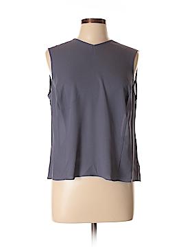 Giorgio Armani Sleeveless Silk Top Size 14