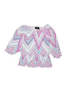 Iz Byer 3/4 Sleeve Top Size 14