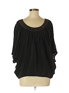 Chelsea Flower Short Sleeve Silk Top Size XS
