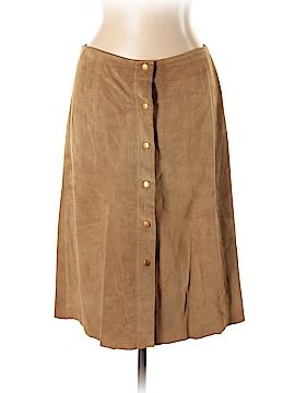 Banana Republic Leather Skirt Size 12