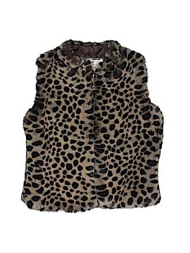 American Widgeon Faux Fur Vest Size 4