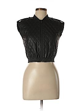 BCBGMAXAZRIA Faux Leather Jacket Size XXS