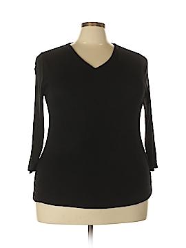 INC International Concepts 3/4 Sleeve T-Shirt Size 1X (Plus)