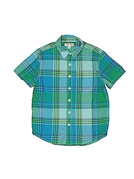 Cherokee Short Sleeve Button-Down Shirt Size S (Kids)