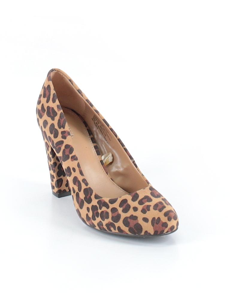 5a39d553ad0b Merona Animal Print Tan Heels Size 8 - 62% off