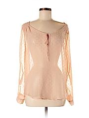 Daniel Rainn Women Long Sleeve Blouse Size M