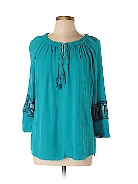 Cupio 3/4 Sleeve Blouse Size L