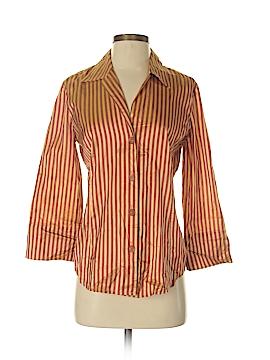 Linda Allard Ellen Tracy 3/4 Sleeve Silk Top Size 6