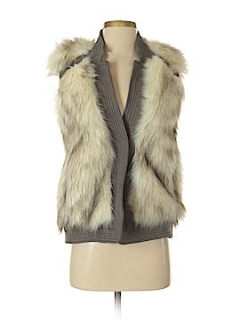 Rebecca Taylor Faux Fur Vest Size XS