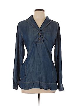 Foxcroft Long Sleeve Blouse Size 10