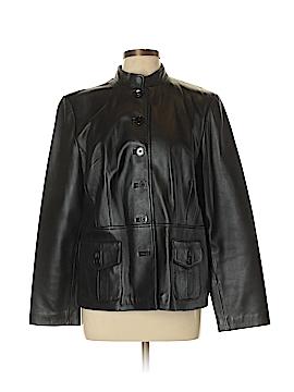 Apt. 9 Leather Jacket Size L