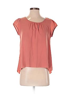 Final Touch Short Sleeve Button-Down Shirt Size S