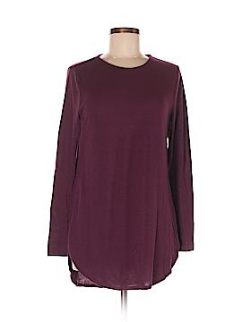 Joan Vass Long Sleeve T-Shirt Size M