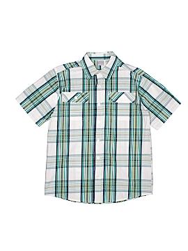 Canyon River Blues Short Sleeve Button-Down Shirt Size 10 - 12