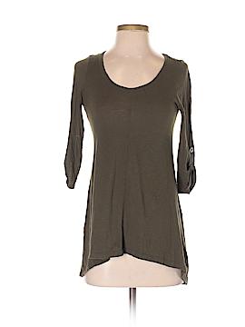 Iris & Navy 3/4 Sleeve T-Shirt Size S