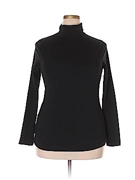 New York & Company Turtleneck Sweater Size 2X (Plus)