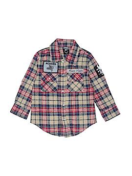 Monster Republic Long Sleeve Button-Down Shirt Size 4