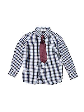 Nautica Long Sleeve Button-Down Shirt Size 4T - 4