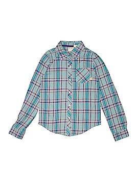 Roxy Girl Long Sleeve Button-Down Shirt Size 10