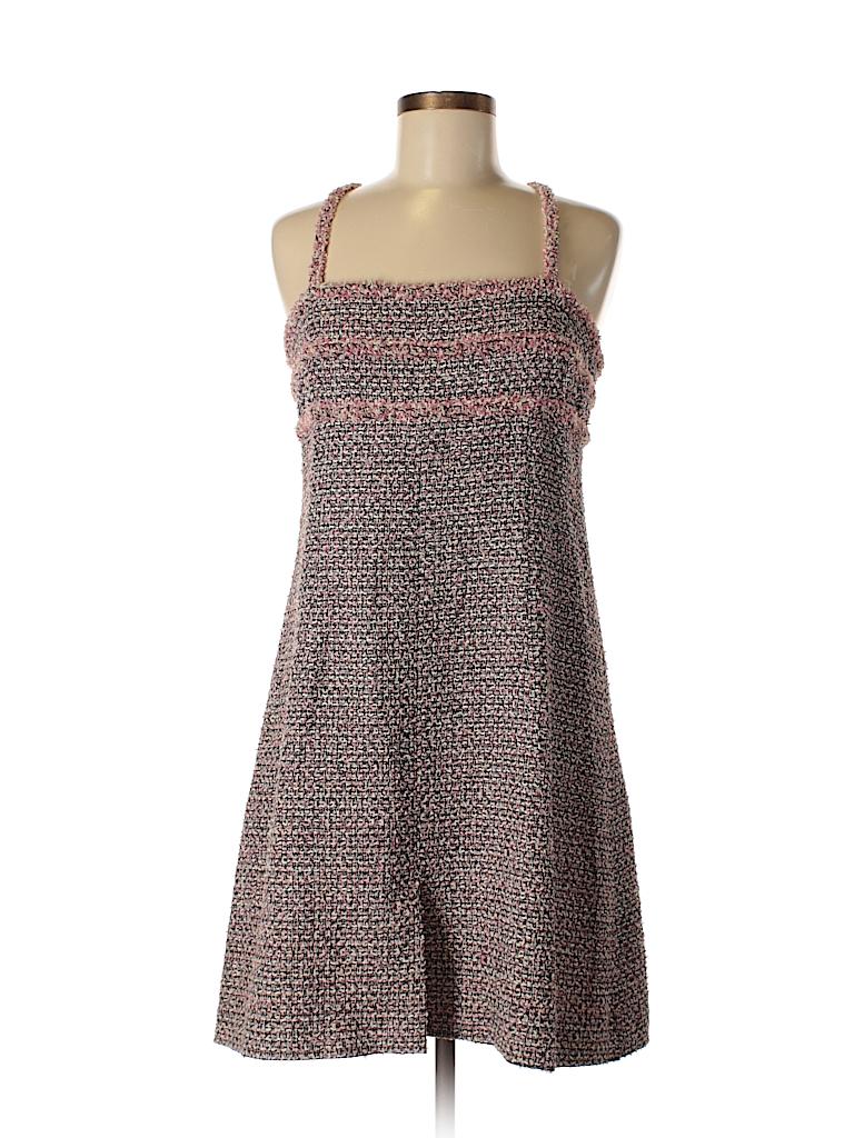 98845cc2e22 Chanel Tweed Light Pink Casual Dress Size 44 (EU) - 83% off