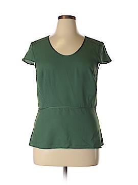 Ann Taylor Short Sleeve Blouse Size 14