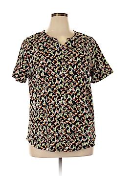 Cj Banks Short Sleeve T-Shirt Size 1X (Plus)