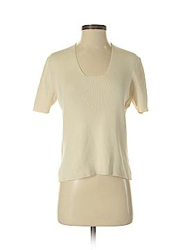 City Silk Silk Pullover Sweater Size S