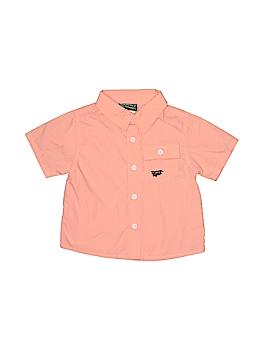 Boyz Wear By Nannette Short Sleeve Button-Down Shirt Size 12 mo
