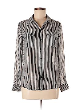 INC International Concepts Long Sleeve Blouse Size 6