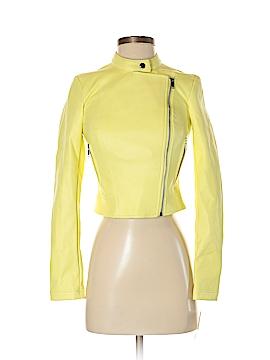 Bar III Faux Leather Jacket Size XXS