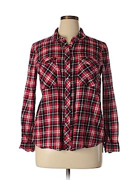 Sportsgirl Long Sleeve Button-Down Shirt Size 14