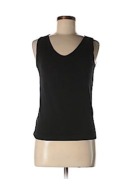 Ellen Tracy Sleeveless Silk Top Size S