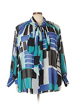 Lane Bryant Long Sleeve Blouse Size 18 Plus (3) (Plus)