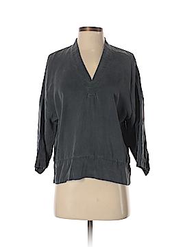 Gap 3/4 Sleeve Button-Down Shirt Size XS